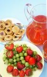 Lato napoje i owoc Obraz Royalty Free