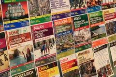Lato nauki Międzynarodowy program obraz stock