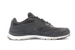 Lato nero della scarpa da corsa Immagine Stock Libera da Diritti