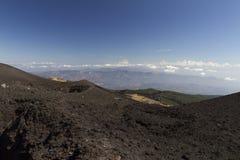 Lato nord di Etna Immagine Stock Libera da Diritti