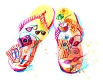 Lato odpoczynek ilustracji