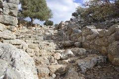 Lato, oude stad in Kreta Stock Afbeelding