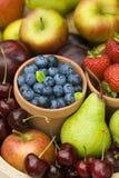 Lato owoc produkty spożywcze Zdjęcia Stock