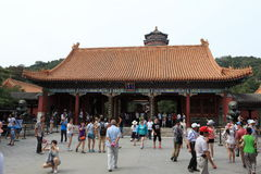 Lato pałac Bejing w Chiny Zdjęcia Royalty Free