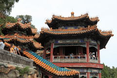 Lato pałac Bejing w Chiny Zdjęcia Stock