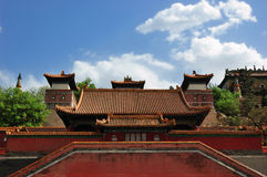 Lato pałac Duży Stan Obraz Royalty Free