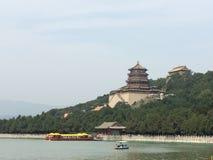 Lato pałac na długowieczności wzgórzu Zdjęcie Royalty Free
