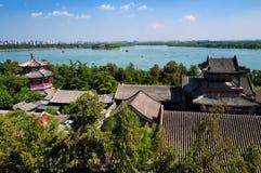 Lato Pałac jezioro Obraz Royalty Free
