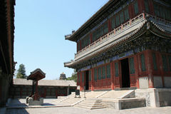 Lato pałac Pekin, Chiny - Fotografia Stock