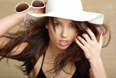 lato piękna seksowna kobieta Fotografia Royalty Free