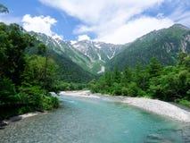 Lato piękny krajobraz Fotografia Stock