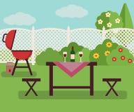 Lato pinkin w ogródzie Obraz Royalty Free