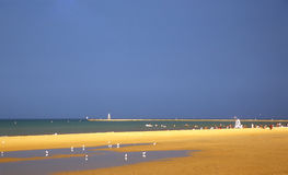 Lato plaża Obraz Royalty Free