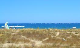 Lato plażowy widok Obrazy Stock