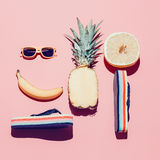 Lato plaży set Obraz Stock