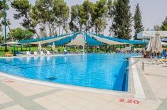 Lato plenerowy basen Zdjęcia Royalty Free