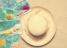 Lato pocztówki zdjęcie royalty free