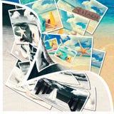 Lato pocztówki zdjęcia stock