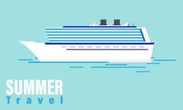 Lato podróży rejs ilustracja wektor