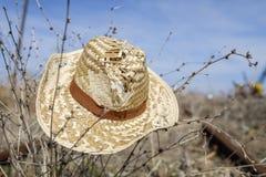 Lato poręcze i kapelusz Obraz Royalty Free