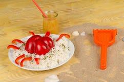 Lato posiłek dla dzieciaków Obrazy Royalty Free