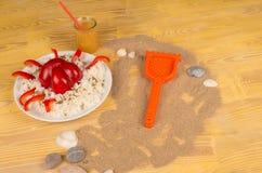 Lato posiłek dla dzieciaków Zdjęcie Stock