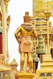 Lato posteriore dei, creature mitiche dell'asiatico 171105 0721 immagini stock