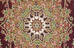 Tappeto persiano Fotografia Stock Libera da Diritti