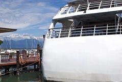 Lato posteriore del traghetto turistico Fotografia Stock Libera da Diritti