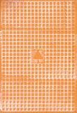 Lato posteriore delle mattonelle di ceramica di Narural Immagini Stock