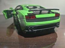 Lato posteriore di gallardo di Lamborghini fotografia stock