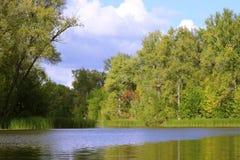 Lato powódź Obraz Royalty Free