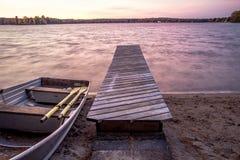 Lato przy jeziorem zdjęcia stock