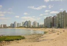 Lato przy plażą w Punta Del Este zdjęcia royalty free