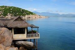Lato ranek w krzywka Ranh zatoce Obraz Royalty Free