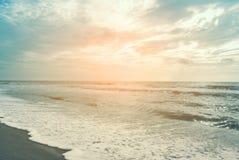 Lato relaksuje plenerowego pojęcie - rocznika koloru filtr Obrazy Stock