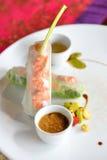 Lato rolka, Wietnamski jedzenie Fotografia Stock