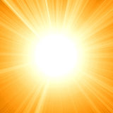Lato słońce Fotografia Royalty Free
