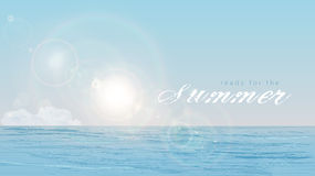 Lato, słońce, morze Zdjęcia Stock