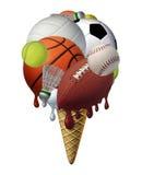 Lato sporty ilustracji
