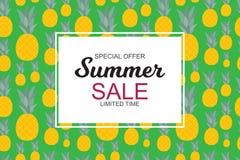 Lato sprzedaży pojęcie również zwrócić corel ilustracji wektora Fotografia Stock