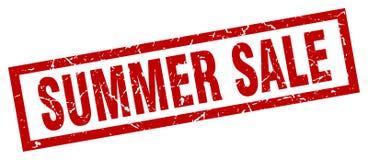 Lato sprzedaży znaczek ilustracja wektor