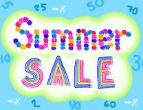 Lato sprzedaż Obrazy Stock