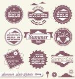 Lato Sprzedaży Handel detaliczny Etykietki i Majchery Obrazy Royalty Free