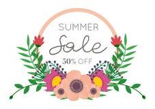 Lato sprzedaży kwiatu bukiet obrazy stock