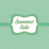 Lato sprzedaży sztandar Obrazy Royalty Free