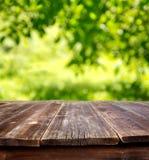 Lato stół Obrazy Royalty Free