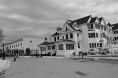 Lato Stwarza ognisko domowe na Mackinac wyspie Zdjęcia Royalty Free