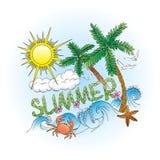 Lato stylizująca kolor sztuka zdjęcie royalty free