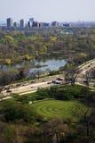 Lato sud del Chicago Fotografie Stock